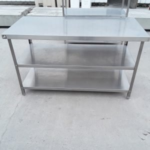 Used Parry  Stainless Steel Table For Sale