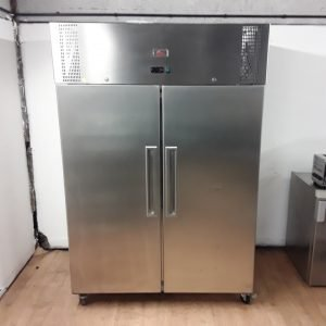 Used Valera UGNSC2 Stainless Steel Double Upright Fridge For Sale