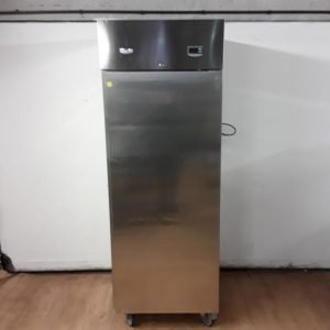 Used Electrolux RS06FX1FG Stainless Steel Single Upright Freezer For Sale