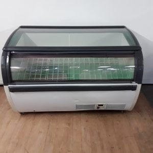 Used  CEP 1.5 Glass Display Chest Freezer For Sale
