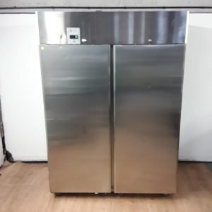 Used Electrolux V2MGTN Stainless Steel Double Upright Fridge For Sale