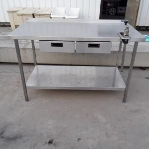 Used Moffat  Stainless Steel Table For Sale