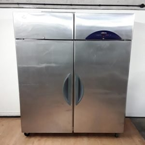Used Williams LS2SS Stainless Steel Double Upright Freezer For Sale