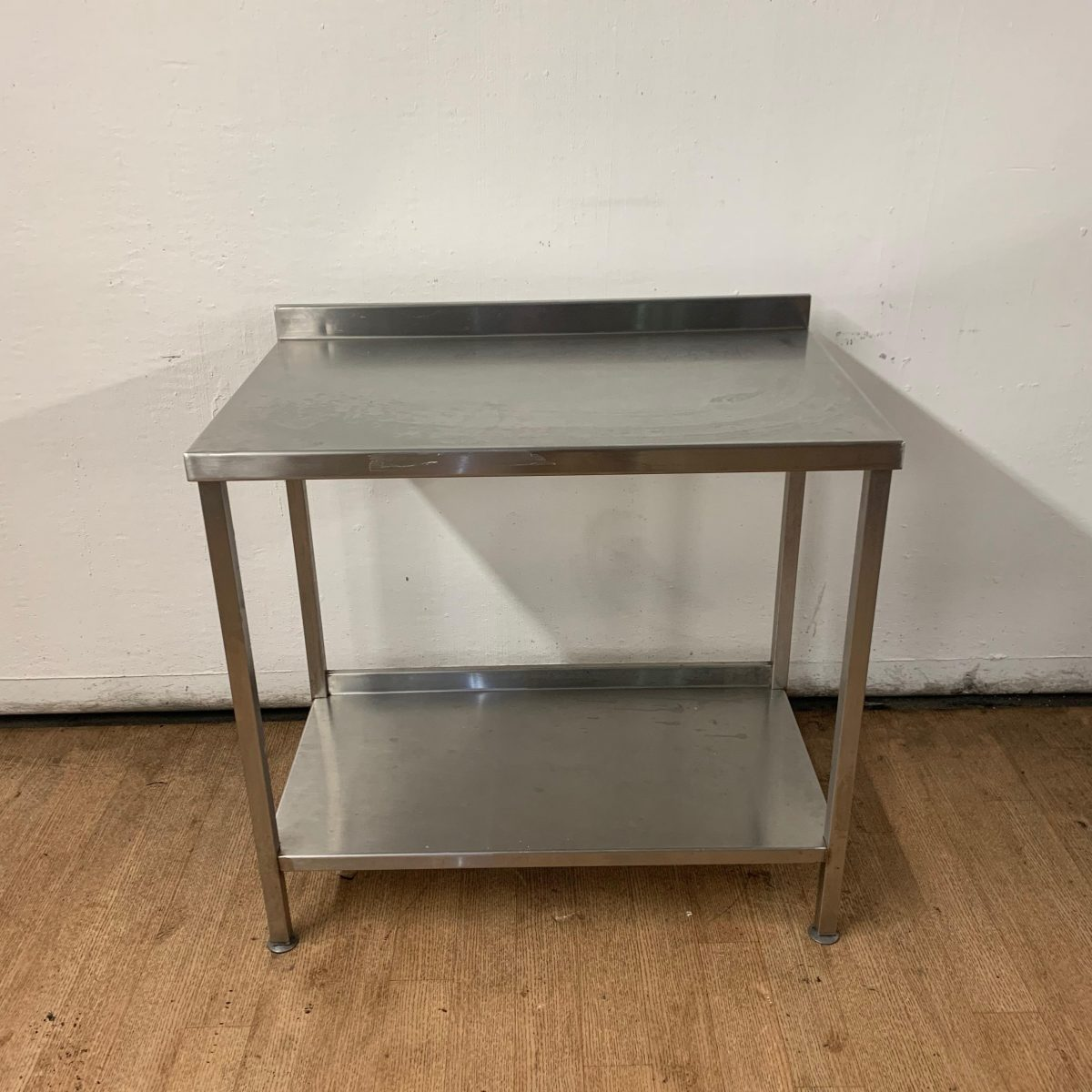 Used Stainless Steel Tables >> Used Stainless Steel Table 95cmw X 60cmd X 88cmh H2 Catering Equipment