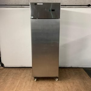 Used King KF6 Stainless steel upright freezer For Sale