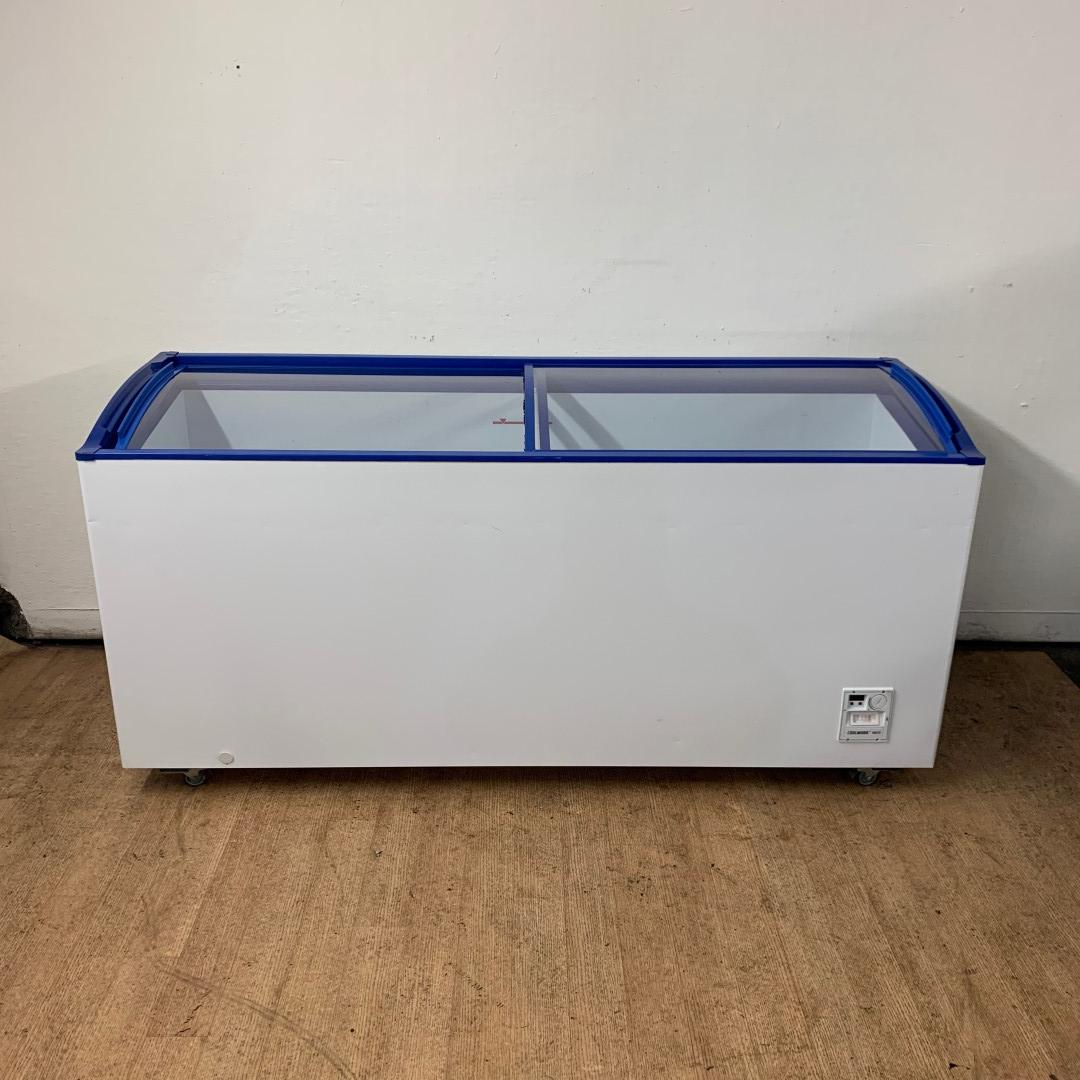 Used Valentini ACL550 Sliding Top display chest freezer For Sale