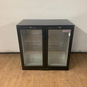 Used Sterling Pro SP2BC-BK/HG Double door bottle fridge For Sale
