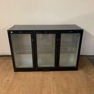 Used Polar GL004 Triple door bottle fridge For Sale