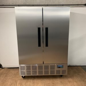 New B Grade Polar GD879 Stainless steel double door fridge For Sale