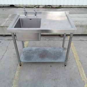 Used Vogue  Stainless Steel Single Bowl Sink For Sale