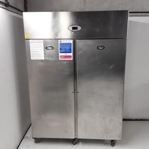 Used Foster PROG1350L-A Stainless Steel Double Upright Freezer For Sale