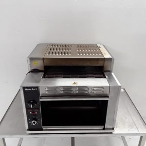 Used Rowlett 1500-RT/NG Three Conveyor Toaster For Sale