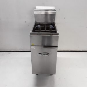 Used Imperial CIFS40 Freestanding Double Fryer For Sale