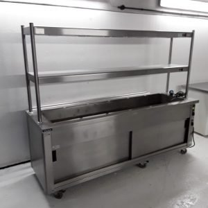 Used Victor CARIB2.419 6 Pot Carvery Hot Cupboard For Sale