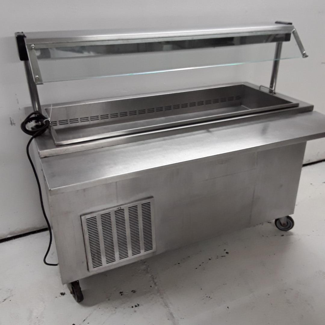 Used Moffat 4U5R Stainless Carvery Display Fridge For Sale