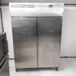 Used Foster PROG1350H Stainless Steel Double Upright Fridge For Sale