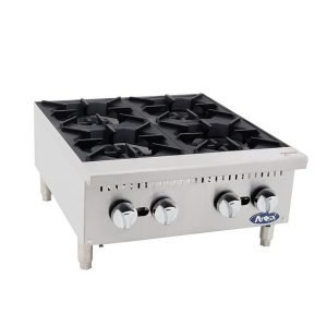 New Atosa ATHP-24-4 4 Burner Hob For Sale