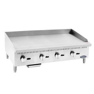 New Atosa ATMG-48 Stainless Steel Flat Griddle For Sale