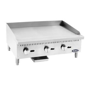 New Atosa ATMG-36 Stainless Steel Flat Griddle For Sale
