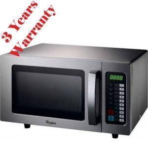 New Whirlpool PRO 25 IX Microwave 1000W Programmable 52cmW x 44cmD x 32cmH