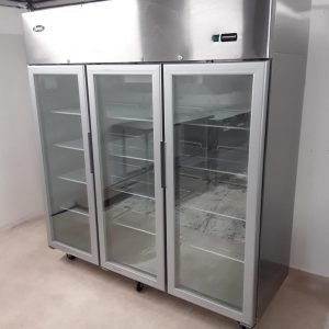 Ex Demo Atosa YCF9409 Triple Upright Display Fridge For Sale