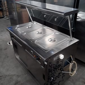 Used Lincat  Carvery Hot Cupboard  Wet Bain Marie For Sale
