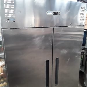 Used Polar G594 Stainless Double Upright Fridge For Sale