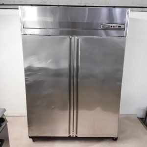 Used Coreco AGR1002 Stainless Steel Double Fridge For Sale