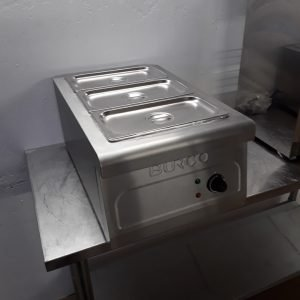 New B Grade Burco CTBM01 Dry Bain Marie For Sale