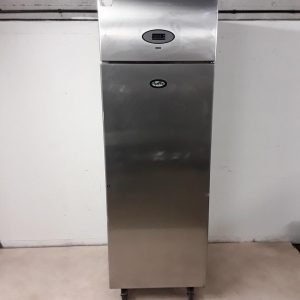 Used Foster PROG600H-A Stainless Steel Single Upright Fridge For Sale