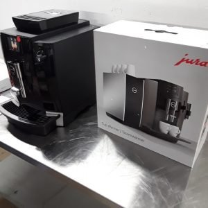 New B Grade Jura WE6 CS150 Bean to Cup Coffee Machine and Cup Warmer For Sale