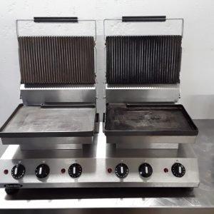 Used Rowlett DA232 Double Panini Contact Grill For Sale