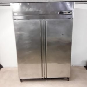 Used Coreco AGR-1002 Stainless Steel Double Fridge For Sale