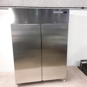 Ex Demo Sterling Pro  Stainless Steel Double Upright Fridge For Sale