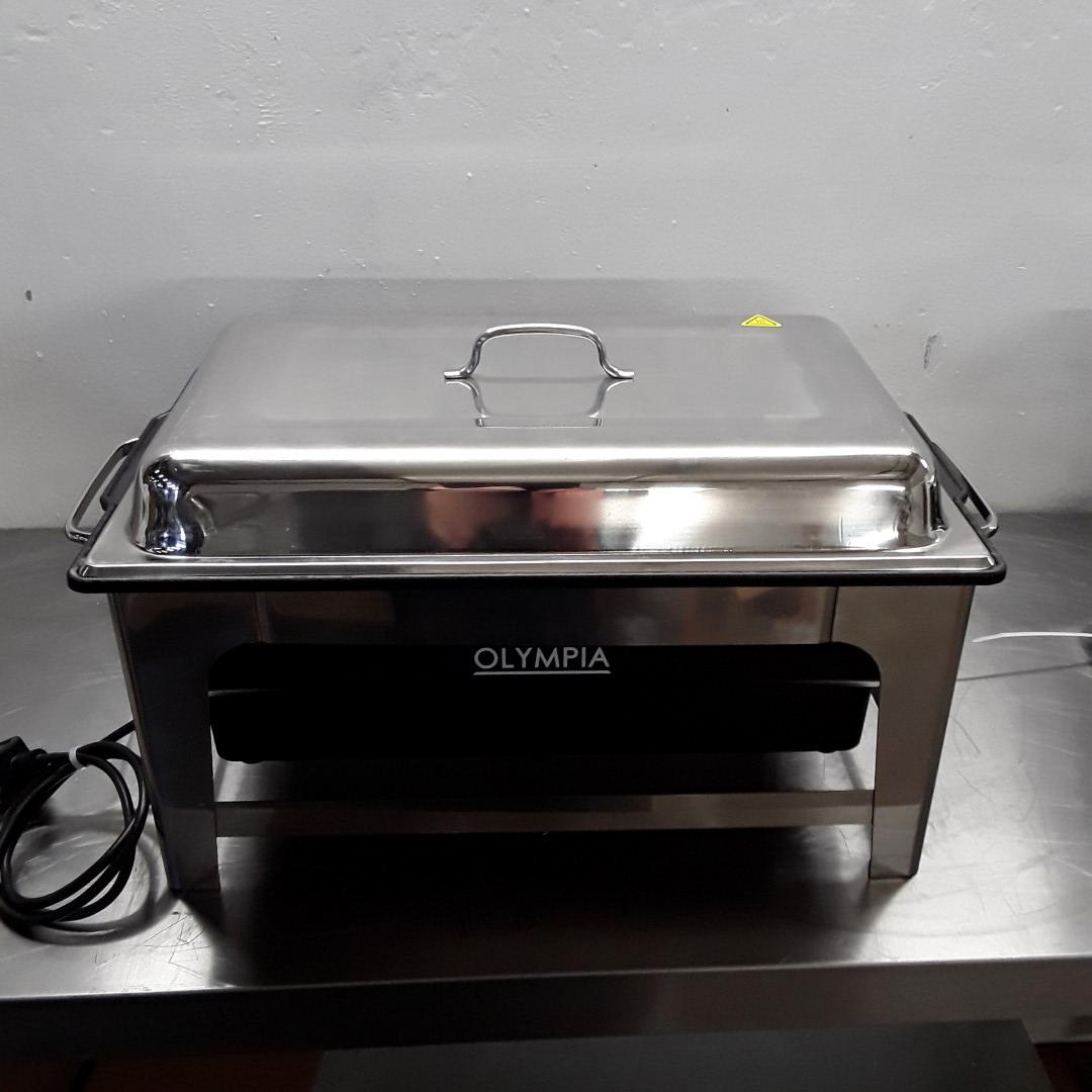 Ex Demo Olympia CM266 Heated Chafing Dish For Sale