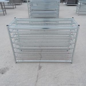 Used Caddie  7 Tier Rack For Sale