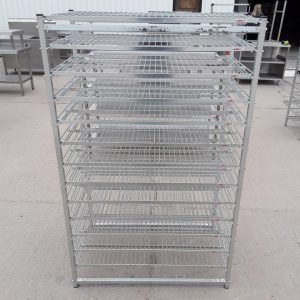 Used Caddie  13 Tier Rack For Sale