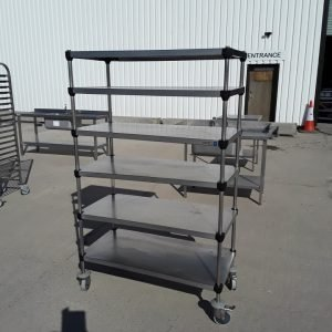 Used Cidelcem  Stainless Steel 6 Tier Rack For Sale
