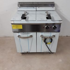 New B Grade Empero 7FE020 Double Freestanding Fryer For Sale