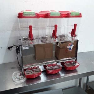 New B Grade   Triple Juice Dispenser For Sale