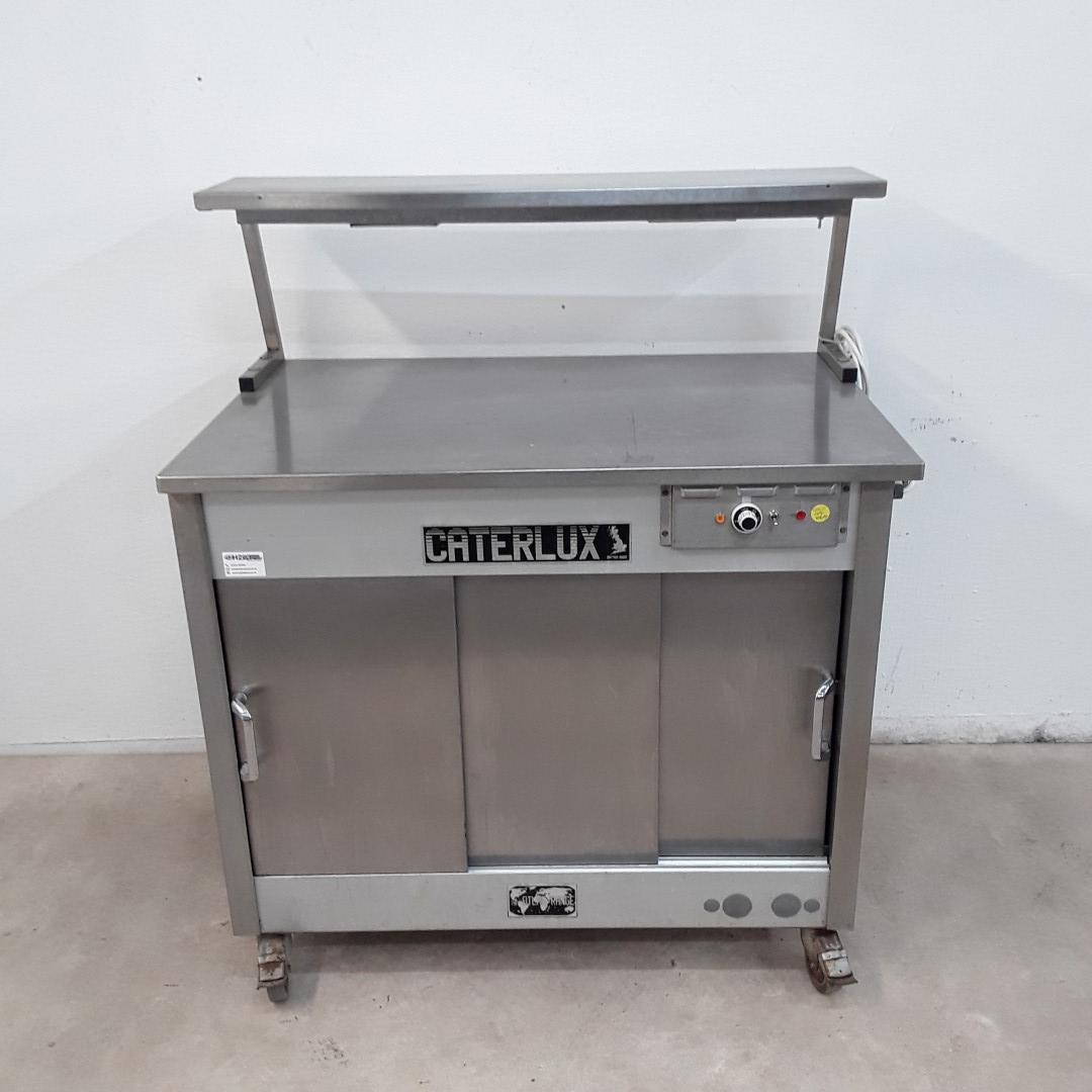 Used Caterlux 3 HLGS Hot Cupboard Heated Gantry Trolley For Sale