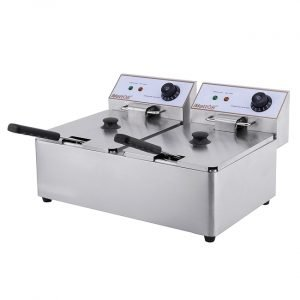 New Imettos 101004 Twin 2 x 6 Ltr Fryer For Sale