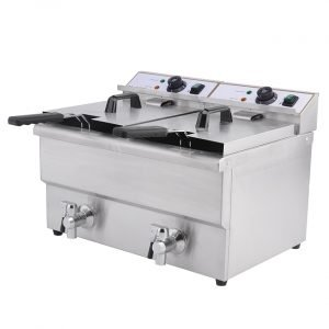 New Imettos 101008 Twin 2 x 8 Ltr Fryer For Sale
