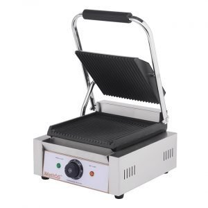 New Imettos 101011 Single/ Ribbed Contact Grill For Sale