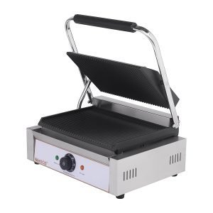 New Imettos 101014 Single/ Ribbed Contact Grill For Sale
