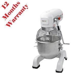 New Imettos 701002 20 Ltr Planetary Mixer 57cmW x 44cmD x 77cmH