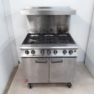 Used Falcon Dominator G3101 6 Burner Range Cooker For Sale