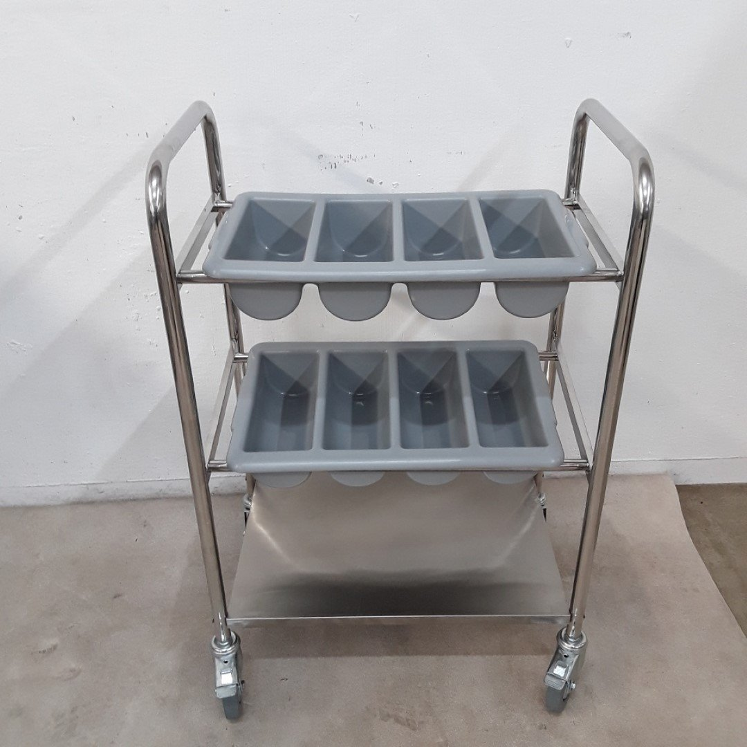 New   Cutlery Serving Trolley For Sale