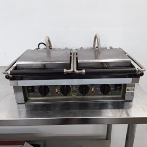Used Roller Grill  Double Panini Contact Grill For Sale
