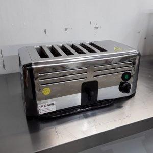 Used Burco TSSL16CHR 6 Slot Toaster For Sale